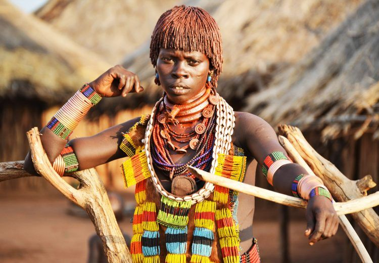 The Hamer are considered to be some of the most beautiful people in the Omo Valley