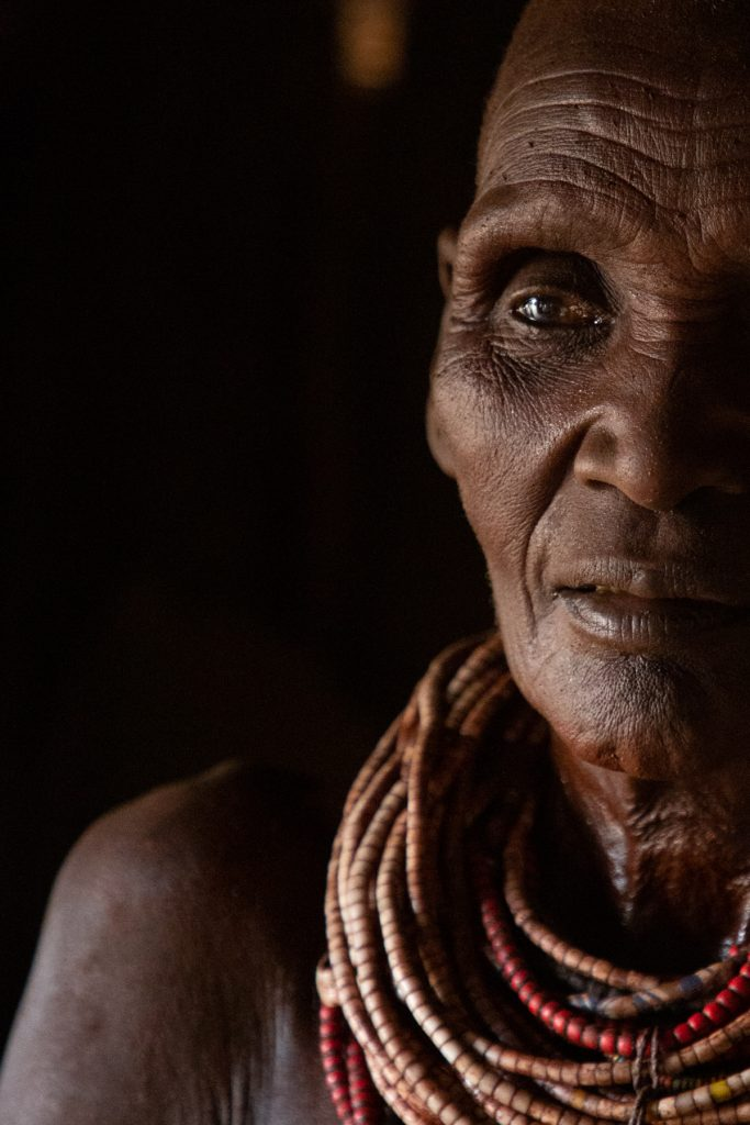 Portrait photography of the Karo people on the Wild Images photo tour of the Omo Valley
