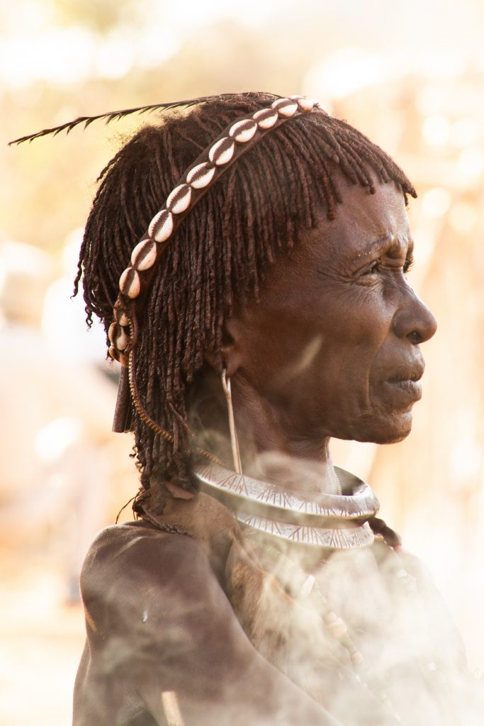 Portrait of a Hamer woman in the Omo Valley with Wild Images photo tours