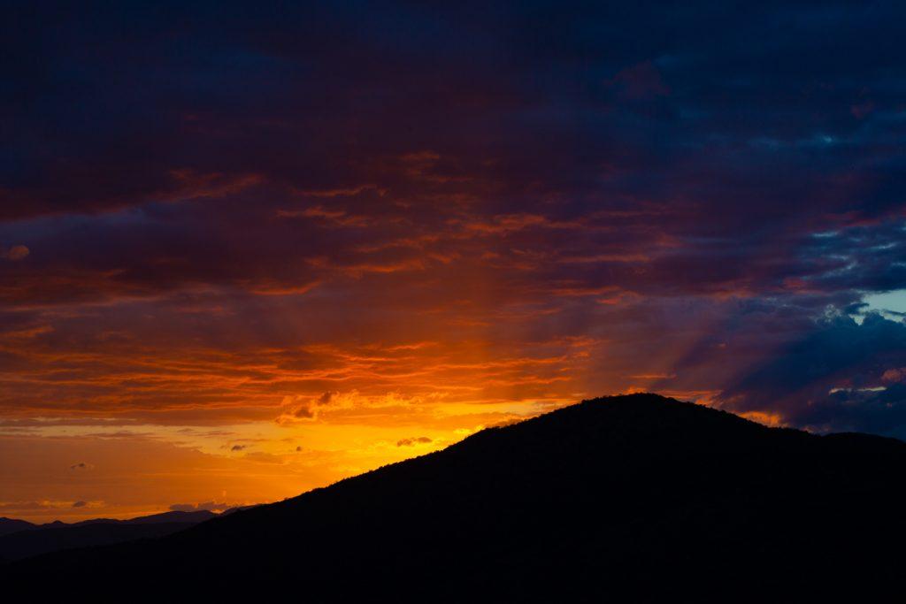 Magical sunrise over Lake Chamo in southern Ethiopia