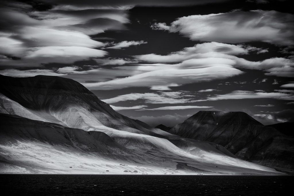 infrared photography of the Svalbard (Spitsbergen) landscapes during the Wild Images photo tour of Svalbard